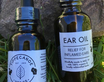 Ear Oil - Mullein Flower - Tinnitus and Ear Infection Relief