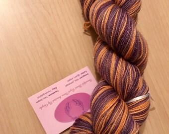 Scrumptious, hand dyed yarn,  stellina, sparkle sock yarn, hand dyed yarn, merino, 4ply, on sale