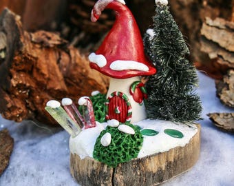 gnome home, pixie palace, fairy house