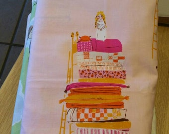 A yard of Fabric - Princess and the Pea pink from the far far away collection