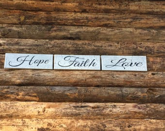 home decor signage - crackled painted signs - wall decor - painted signs
