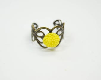 Ring Flower yellow