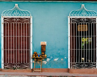 Doors of Cuba - Photography Fine Art Print, Decor, Tinidad Print, Travel Photography, Cuban Art, Urban Art, Wanderlust Print, Shabby Chic