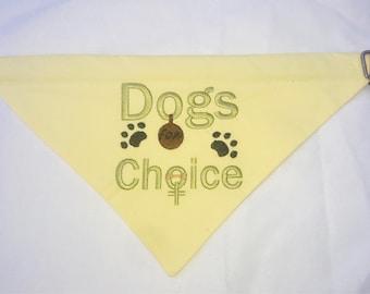Dog Bandana Dogs for Choice