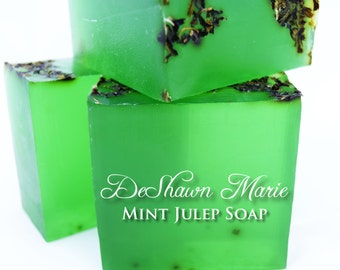 3.5 lb Soap Loaf -SOAP - . Spearmint Vegan Handmade Soap Loaf, Wholesale Soap Loaves, FREE SHIPPING