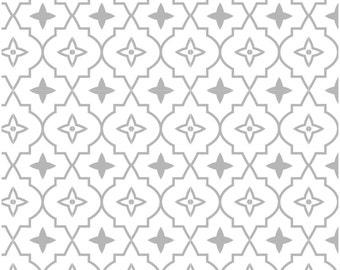 Removable Wallpaper, Peel and stick wallpaper, Wallpaper, Moroccan wallpaper, Repositionable, Self adhesive wallpaper, grey wallpaper