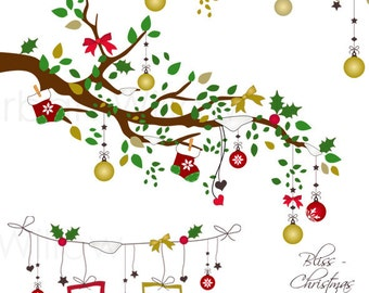 Bliss -  Christmas - Png & Jpeg clip art images.