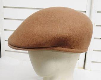 Cuffley  Stetson England Wool Felt Driving Motoring Cap  Hat  561