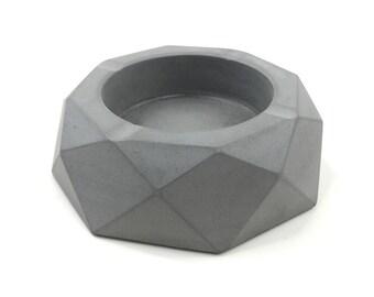 Geometry Concrete Ashtray(Small)
