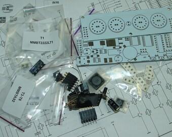 Nixie tube clock kit 2.3 (Without tube)