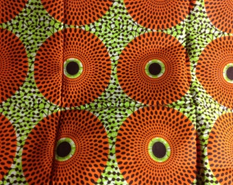 African fabric, African clothing, Africa print fabric, Ankara fabric, African wax print, Dashiki Print, 100% Cotton Fabric African Head Wrap
