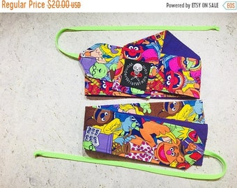 ON SALE The Muppets, Wrist Wraps, WOD, Weightlifting, Athletic