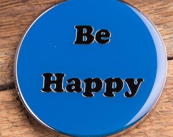 Be Happy Coin Blue