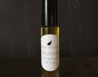 Patchouli Perfume Oil. Organic Single Note.