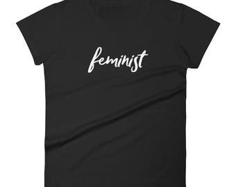 Feminist Women's short sleeve t-shirt