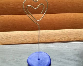 Heart Wire Photo Stand