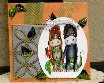 2034 Adam and Eve Hippo Digi Stamp