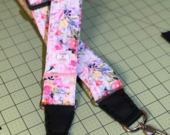 Custom made-to-order Banjo Strap with Metal Clips