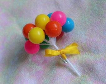 Balloon Brooch Pin PARTY KEI Decora Harajuku Fashion Kawaii Cute Cult-Party Kei Sweet Lolita EGL Pin Brooch