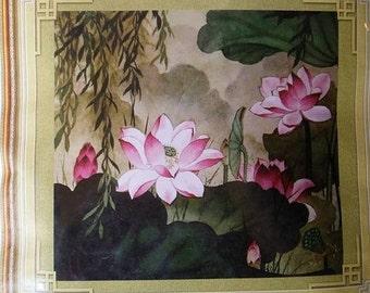 Die Lian Hua- Beautiful Flowers Cross Stitches Kit (A416)