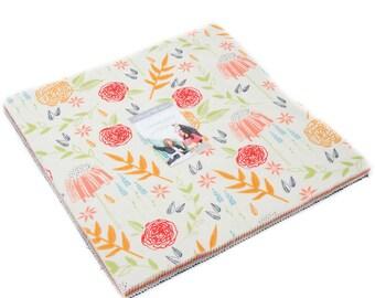 "Moda CREEKSIDE Layer Cake 42 10"" Fabric Squares 37530LC by Sherri & Chelsi"
