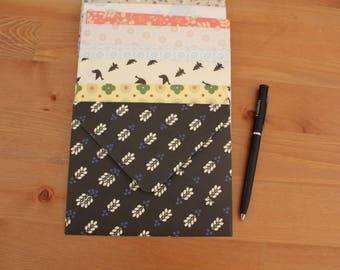 Assorted patterned envelopes, Blank Cards, A2 envelopes, Happy Mail, Snail Mail, Penpals, Enclosure Cards, Handmade envelopes , Set of 12