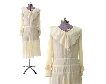 des années 1920 robe garçonne des années 20 de robe des années 1920 Vintage robe des années 1920 petite robe des années 1920 de soie robe 20 blanc robe Gatsby le magnifique robe Costume vêtements