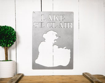 Lake St. Clair (Steel Lake Map)