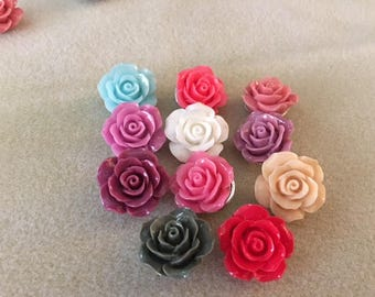 M* Snaps, 28 mm, Assorted Roses (112-2018)