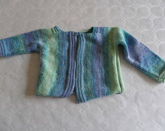 girl long sleeves Cardigan size 1 year