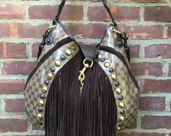 Vintage Gucci Babushka Hobo Shoulder Bag