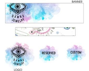 Logo design, Branding Package, Custom Logo Design, Banner Design, Business Logo, shop icon, logo, branding design, photography logo