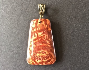 Agate charm, Earth of Africa, 6 cm