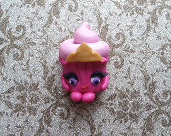 Princess Aurora Cupcake Center For Hair Bow