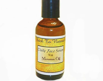Oil Face Cleanser - Organic Face Cleanser - Organic Cleansing Face Serum with Moroccan Argan Oil -Organic Face Oil -Organic face moisturizer