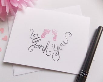 Baby Shower Thank You Cards - Thank You Cards - Baby Girl Thank You - Boy Thank You - Neutral Thank You Card -Thank You Set -Thank You Pack