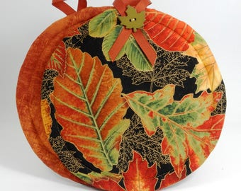 Autumn Fall Pot Holders Hot Pads - Set of Two