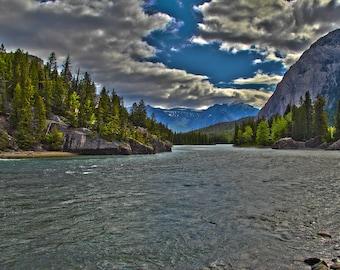 Banff National Park 8x10 photo (matted)