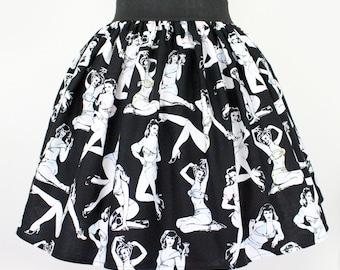 SALE!! Pleated Pinups  Skirt