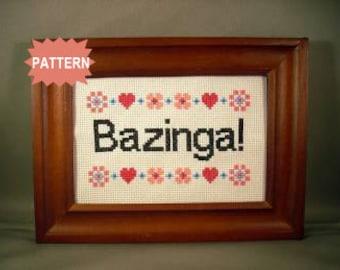 PDF/JPEG Bazinga (Pattern)