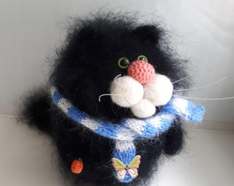 Black Cat Is Good Luck. gift, souvenir, talisman