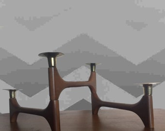 Danish Modern Articulated Swing Arm Candle Holders Mid Century 1950s 50s 1960s 60s