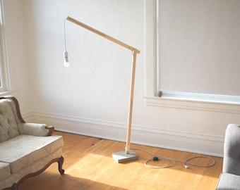 Floor Lamp, Industrial Lighting, Tall Lamp, Rustic Lighting, Living Room Lamp, Decorative Lamp, Accent Lighting, Rustic Home Art