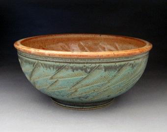 Large 3 Quart Bowl-  Your choice of color