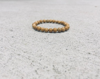 Yellow Jasper Mala Bracelet - Mala Bracelet - Yellow Jasper Bracelet, Chakra Bracelet, Yoga Bracelet, Manipura Chakra, Solar Plexus Chakra