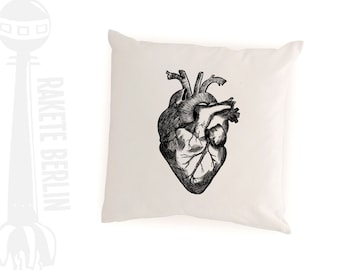 cushion cover 'anatomical heart'