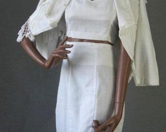 80s Vintage Jacket High Waist Skirt and Midriff Top Extreme Medium
