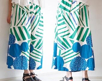 Paper Pattern | Echino skirt pants Pattern(free size)