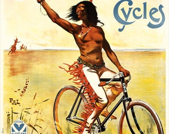 Cleveland Cycles  Poster (#1002) 6 sizes