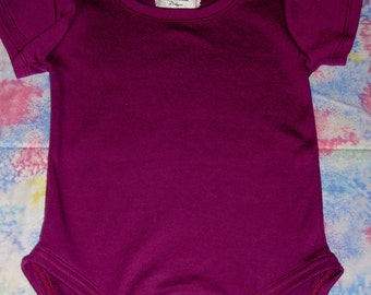 Round Neck Plum Colored One Piece in 18 Month Size
